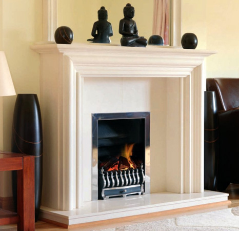 Image of Cork Stone Fireplace